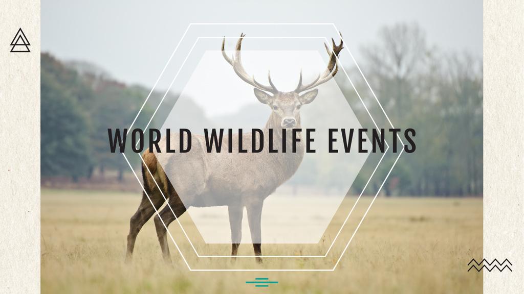 World wildlife events — Crear un diseño