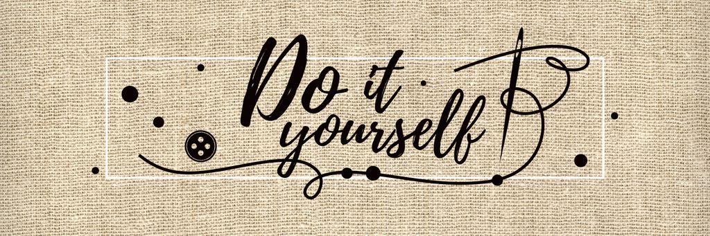 Do it yourself inspirational banner — Créer un visuel