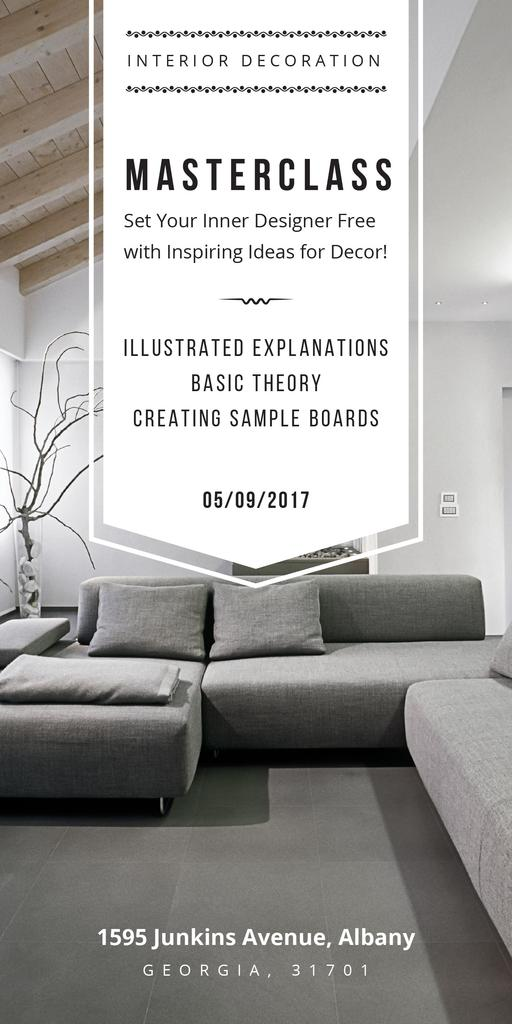 Interior decoration masterclass — ein Design erstellen