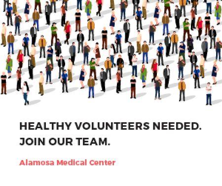 Alamosa Medical Center Medium Rectangle – шаблон для дизайна