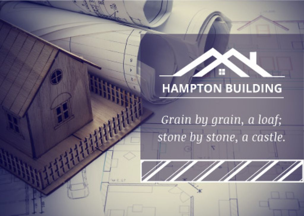 Hampton building poster —デザインを作成する
