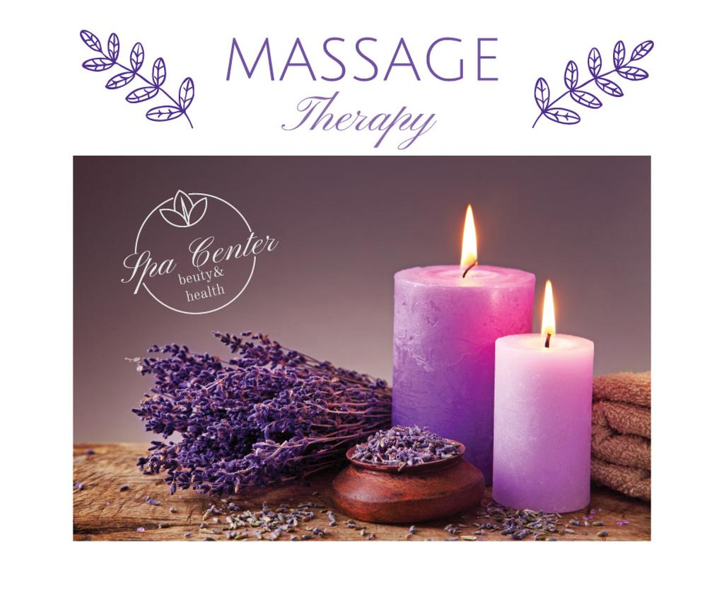 Massage therapy advertisement — Maak een ontwerp