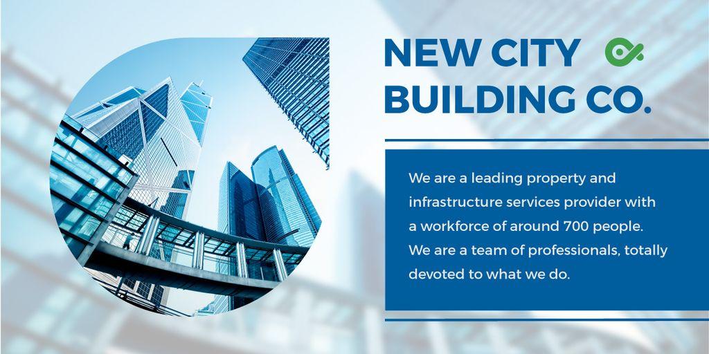 New city building poster — ein Design erstellen
