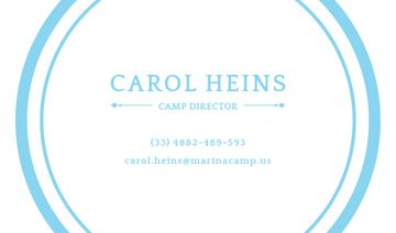 Camp Director Services Offer