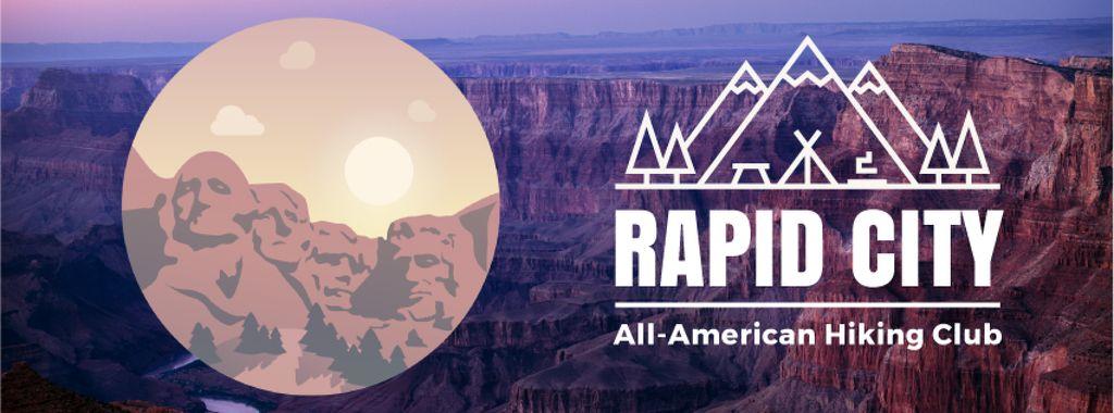 Travelling Mount Rushmore icon — ein Design erstellen