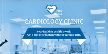 Cardiology clinic banner