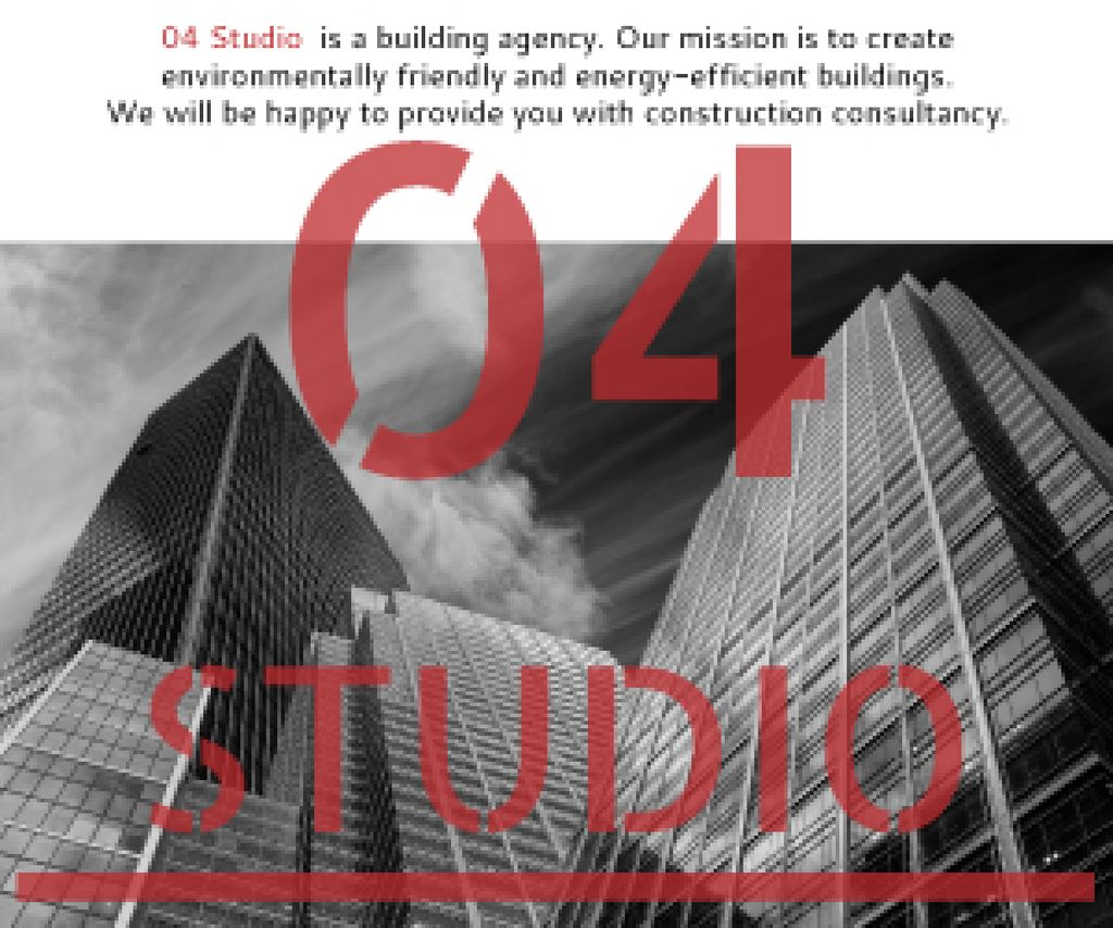Building agency banner — Create a Design