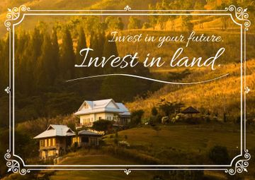 Invest in land poster