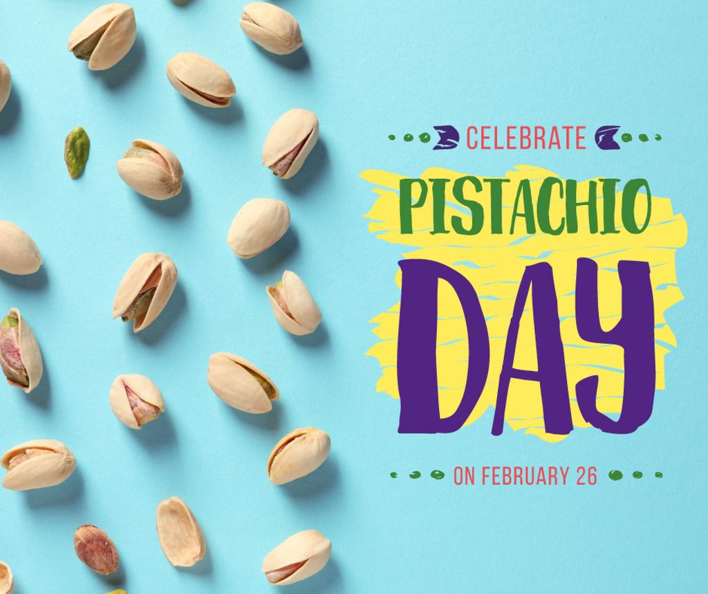 Pistachio nuts day celebration — Créer un visuel