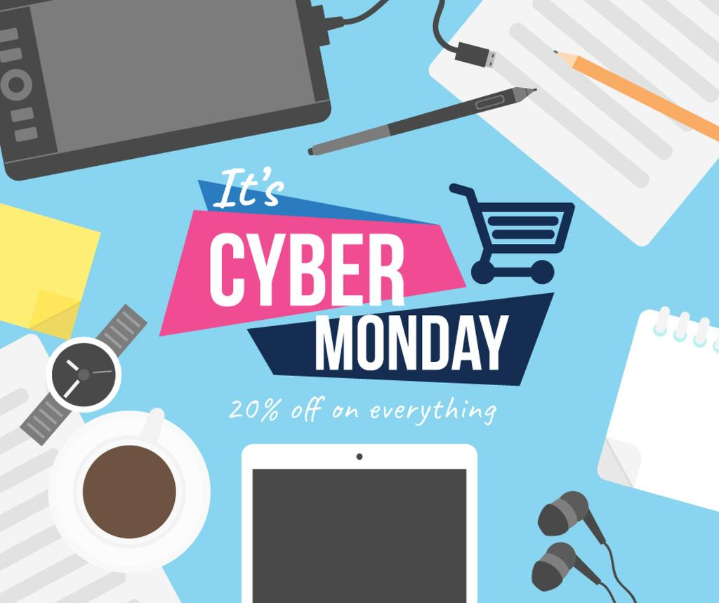 Cyber monday sale poster — Create a Design