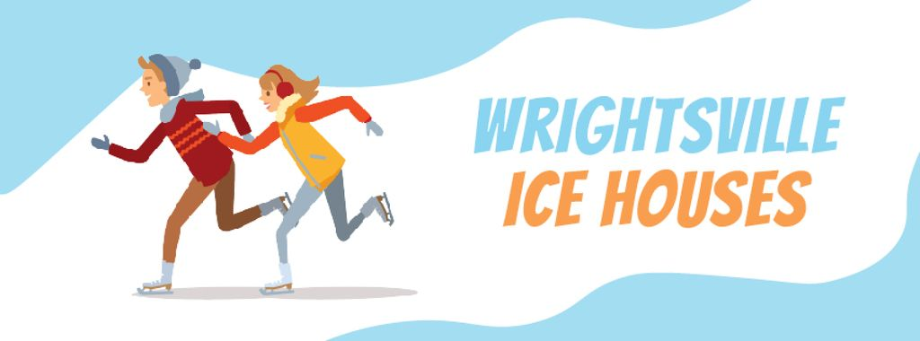 People skating on ice — Crear un diseño