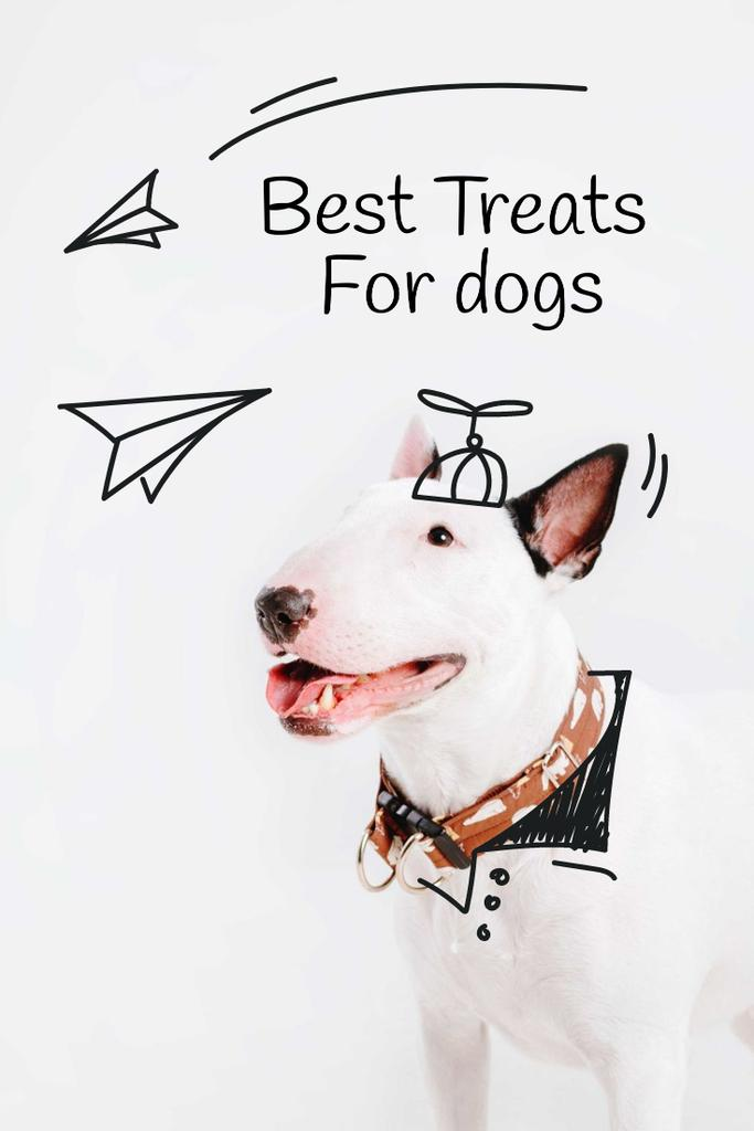 Happy Dog for Treats promotion — Crear un diseño