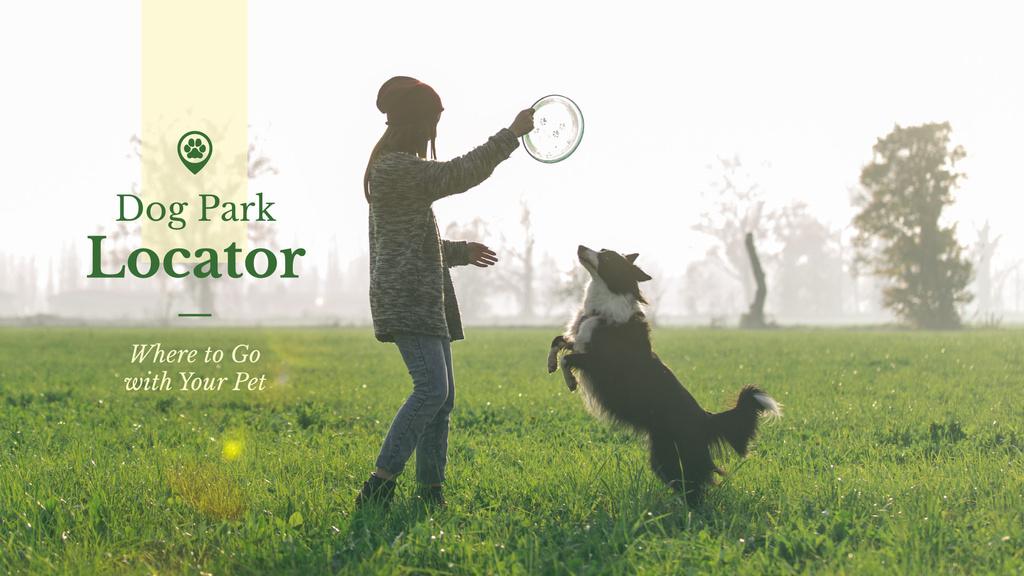 Dog park locator — Create a Design