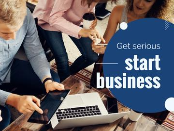 Start business poster
