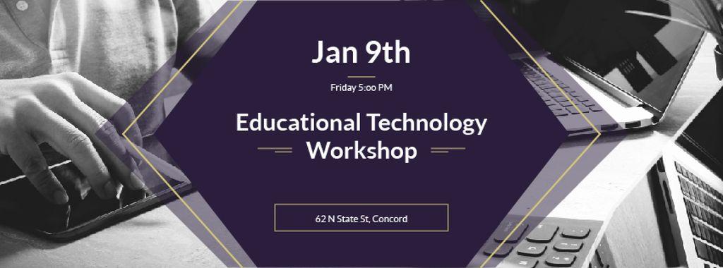 Educational technology workshop — Modelo de projeto