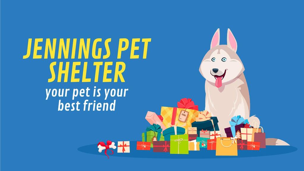 Animal Shelter Ad Dog by Bunch of Gifts — ein Design erstellen