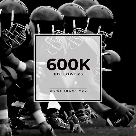 Modèle de visuel Sport blog Ad with Group of Athletes - Instagram