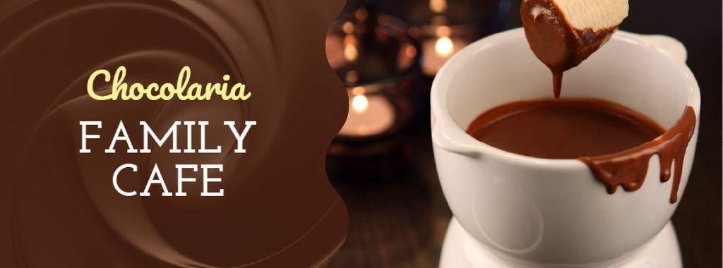 Hot chocolate Fondue dish — Создать дизайн