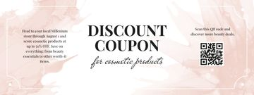 Cosmetics Products Discount Offer