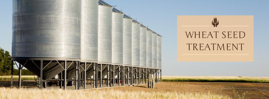 Wheat seed treatment poster — Створити дизайн