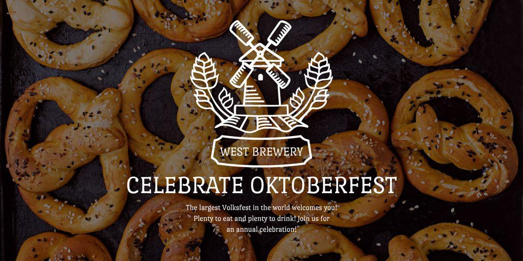 Traditional Oktoberfest pretzels — Maak een ontwerp
