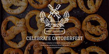 Traditional Oktoberfest pretzels