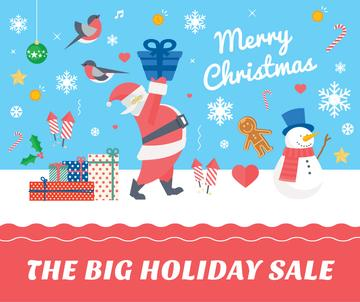 Merry Christmas sale card