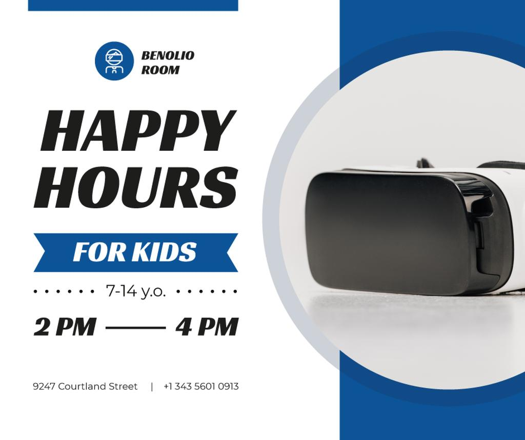 Happy Hours Offer VR Glasses —デザインを作成する