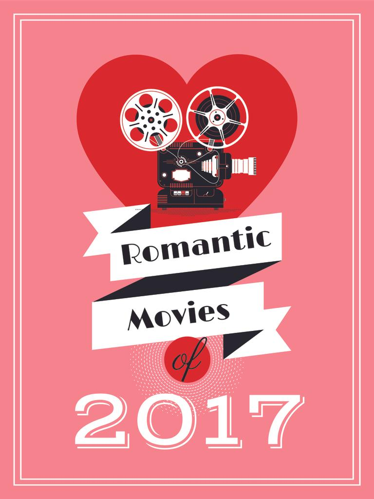Romantic movies poster — Создать дизайн