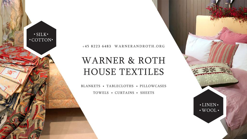 Warner & Roth House Textiles — Створити дизайн