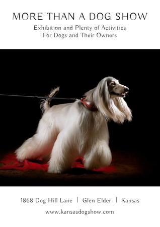 Dog Show in Kansas Poster Modelo de Design