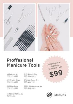 Manicure Tools Sale Hands in Pink