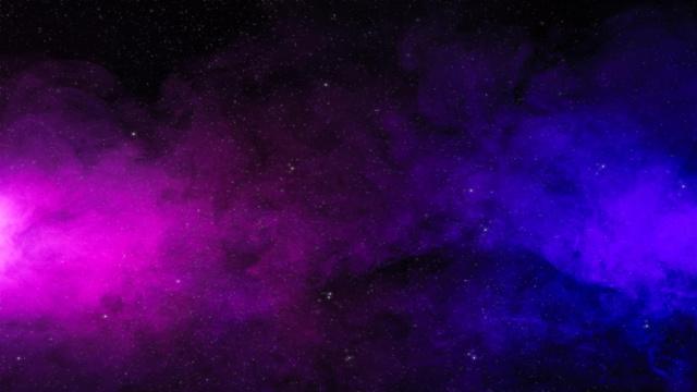 Plantilla de diseño de Starry Sky with colorful haze Zoom Background