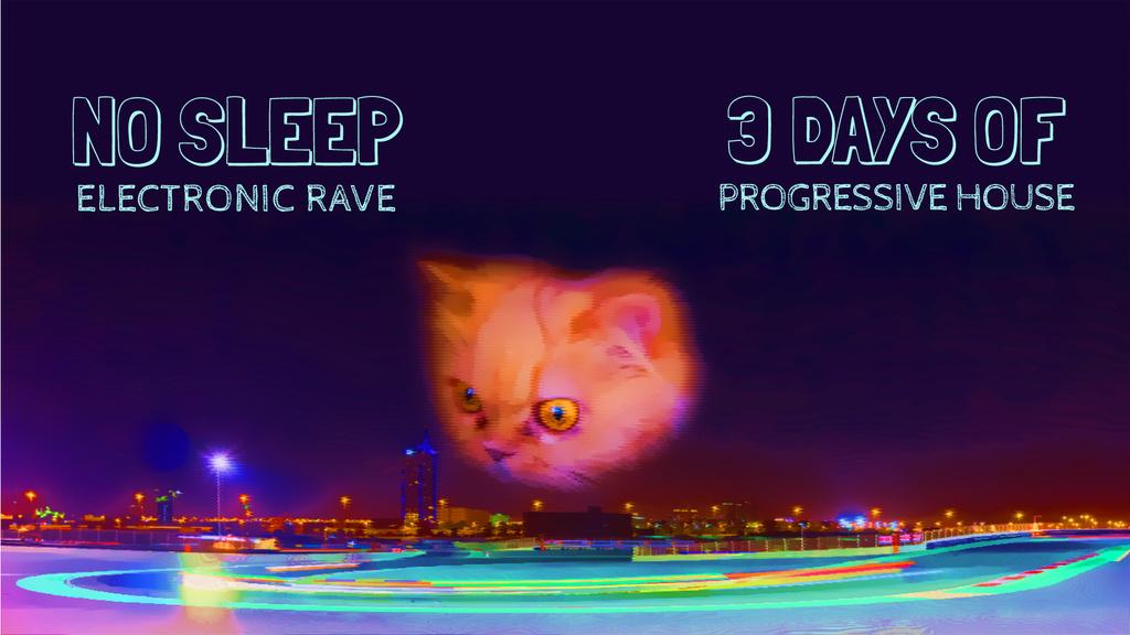 Cat gazing at night city — Créer un visuel