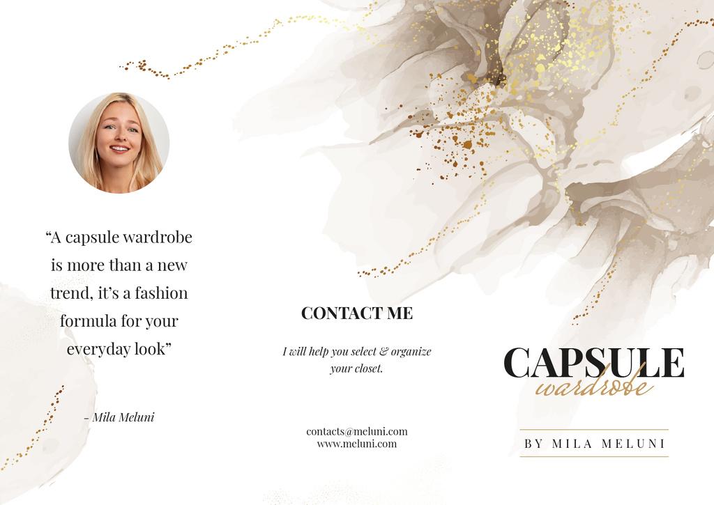 Capsule Wardrobe by professional Stylist — Maak een ontwerp