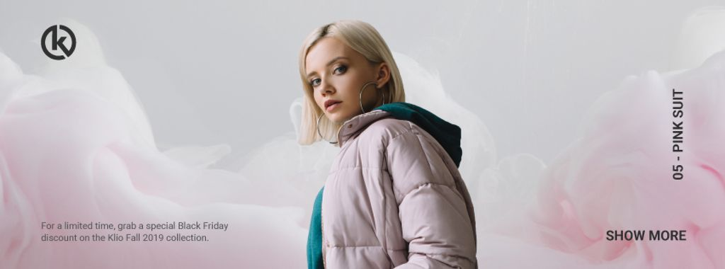 Fashion Ad with Stylish young Couple — Crea un design