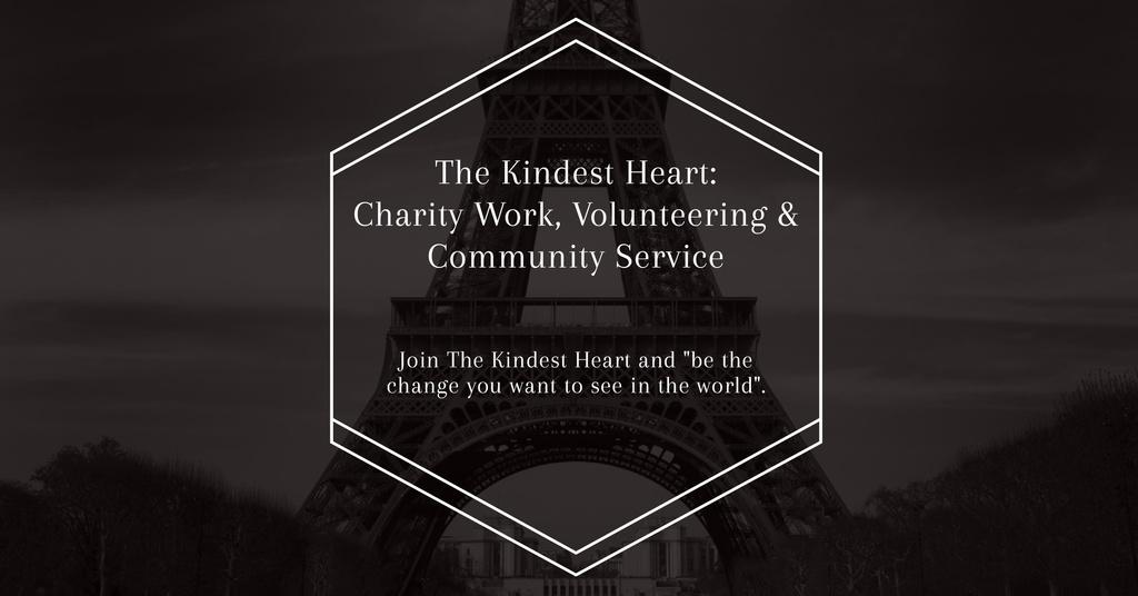 The Kindest Heart Charity Work — Modelo de projeto