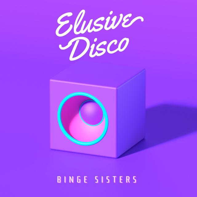 Designvorlage Disco Music from Loudspeaker für Album Cover