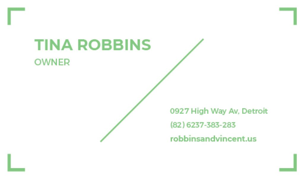 Modern business card —デザインを作成する