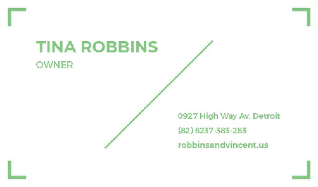 Modern business card — Создать дизайн