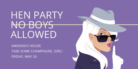 Plantilla de diseño de Hen party for girls in Amanda's House Image