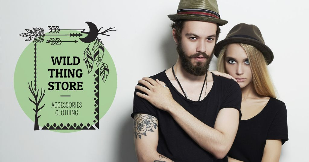 Wild thing store advertisement — Crea un design