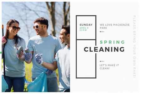 Template di design Spring Cleaning in Mackenzie park Gift Certificate