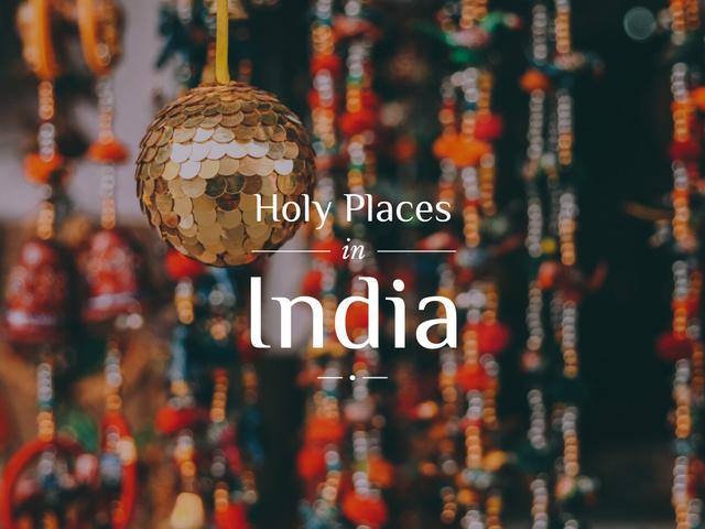 Designvorlage Asia Traveling Guide Traditional India Decorations für Presentation