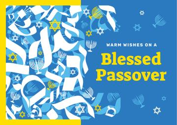 Passover holiday symbols