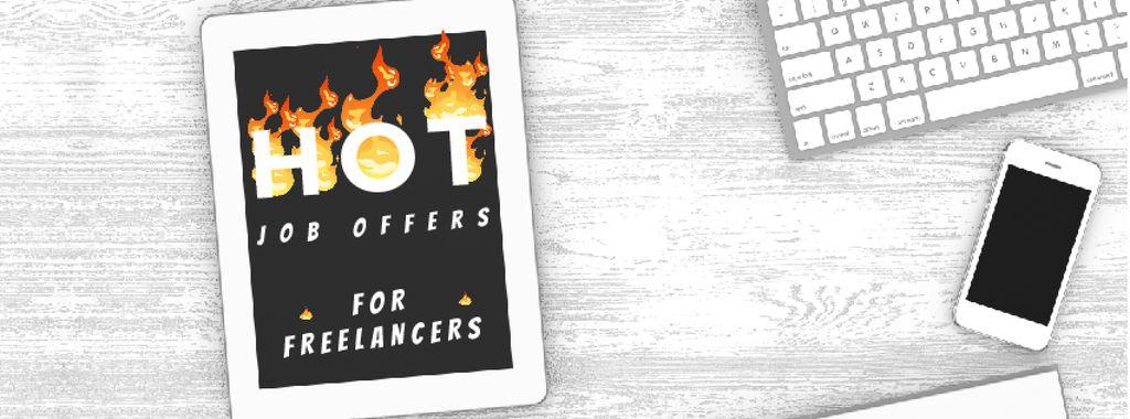 Job offer on digital Tablet  — Создать дизайн