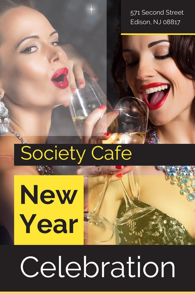 New Year celebration — Create a Design