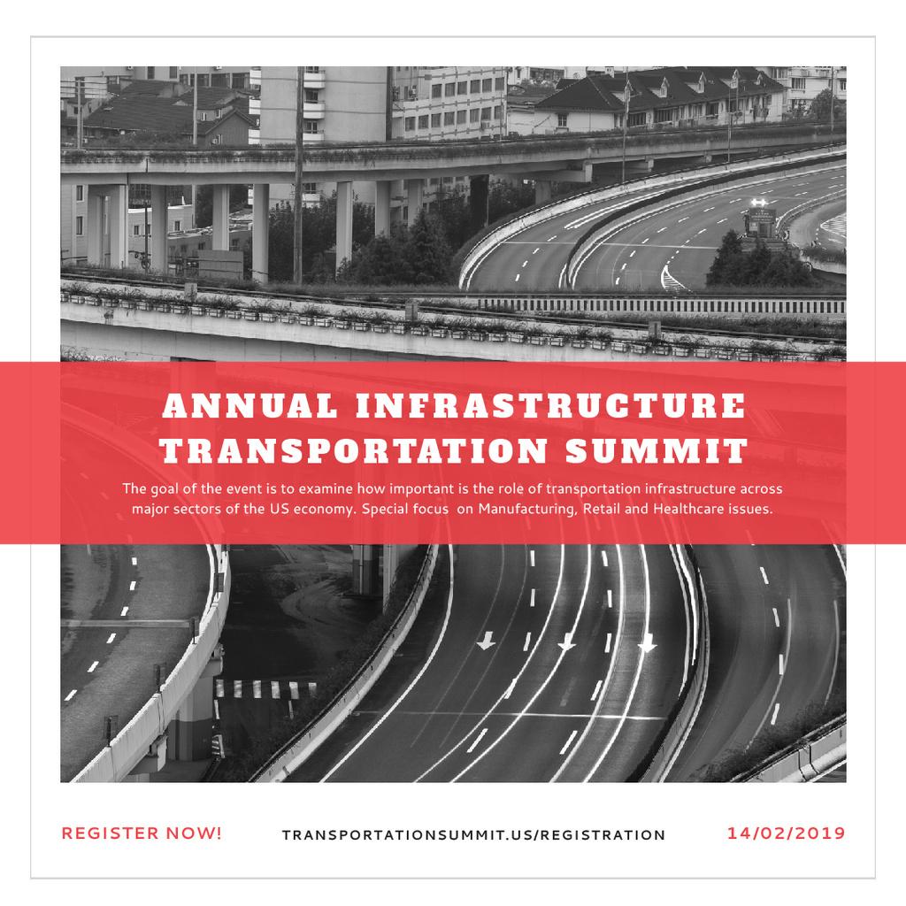 Annual infrastructure transportation summit — ein Design erstellen