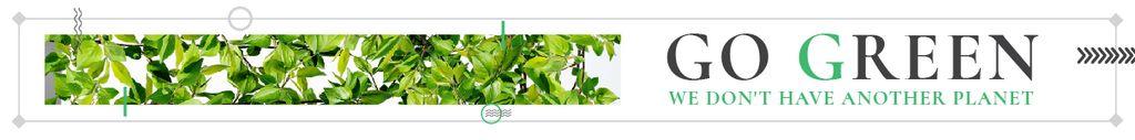 Citation about green planet — Створити дизайн