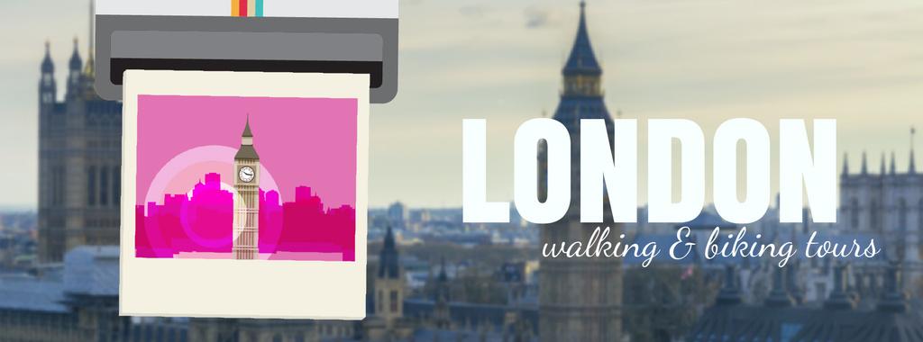 London Big Ben Famous Travelling Spot — Maak een ontwerp